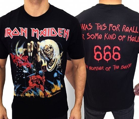 Camiseta - Iron Maiden - The Number