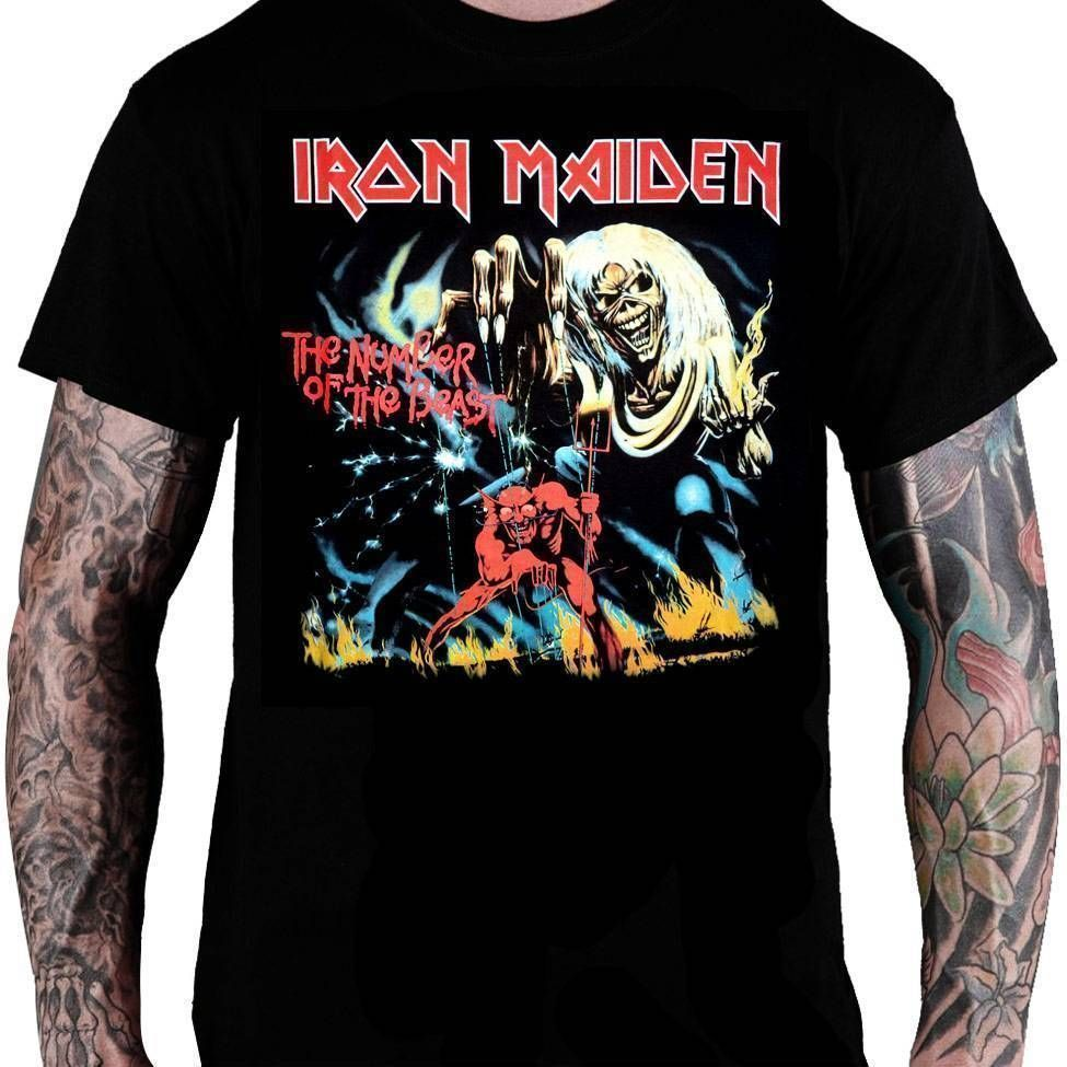 CamisetaIron Maiden – The Number of the Beast
