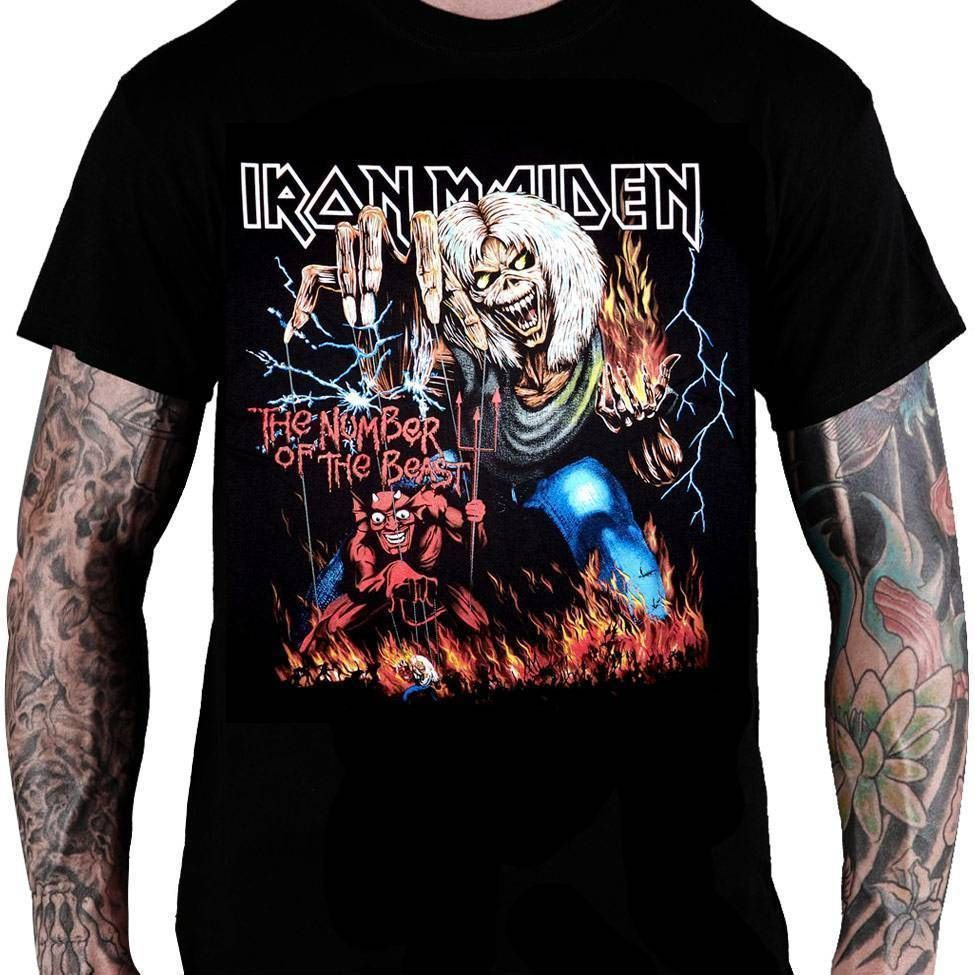 Camiseta Iron Maiden – The Number of The Beast