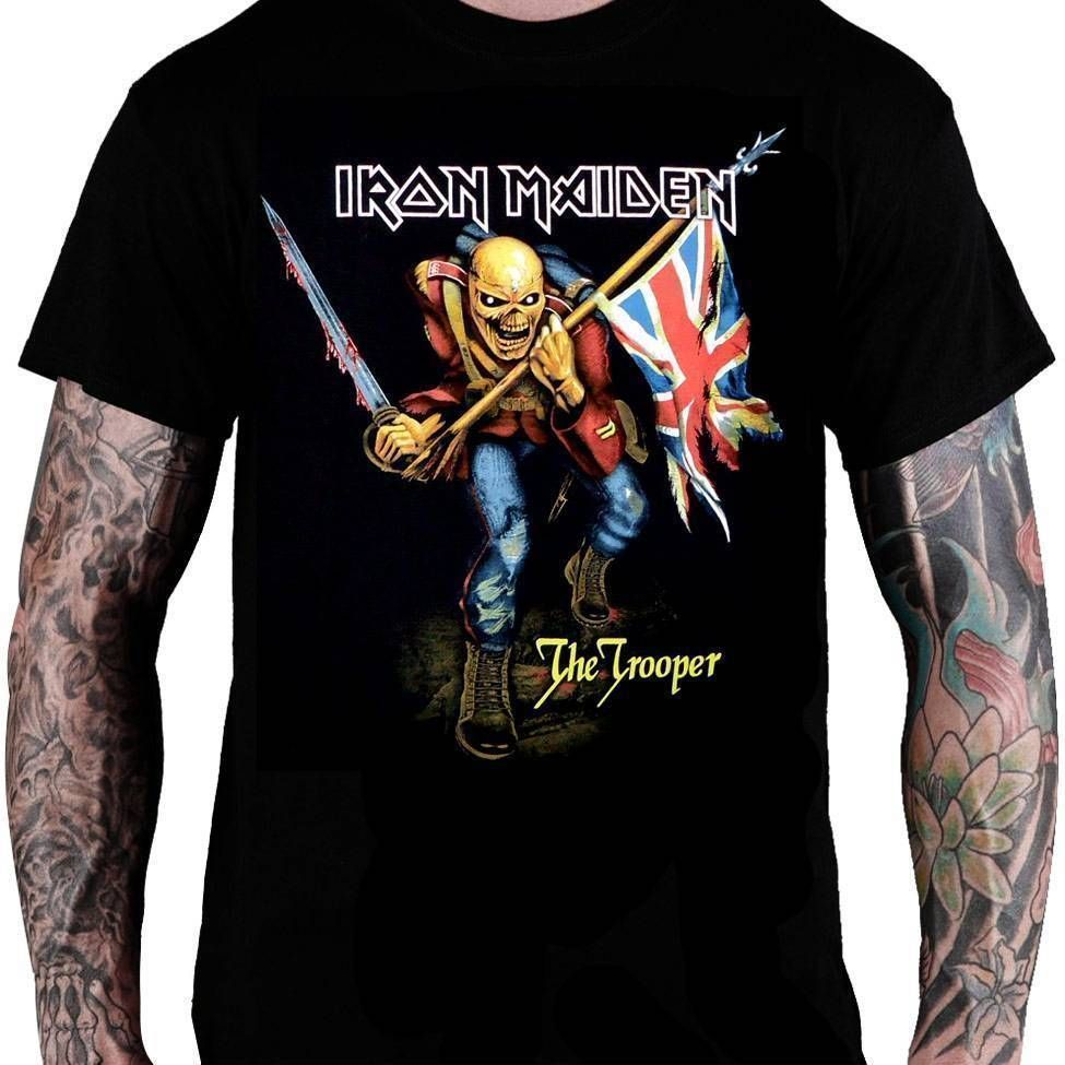 Camiseta Iron Maiden – The Trooper