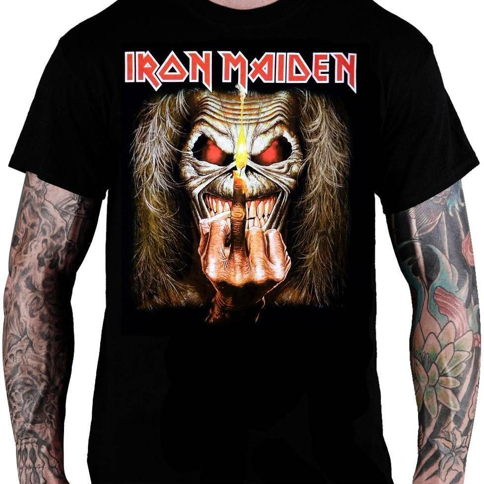 CamisetaIRON MAIDEN – Up The Irons