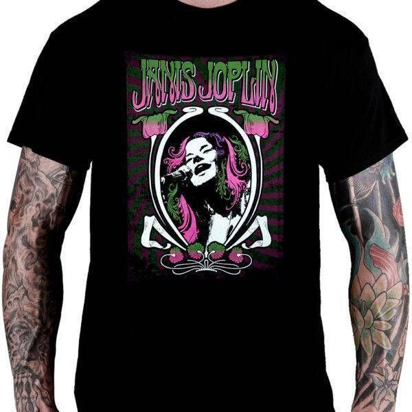 CamisetaJanis Joplin