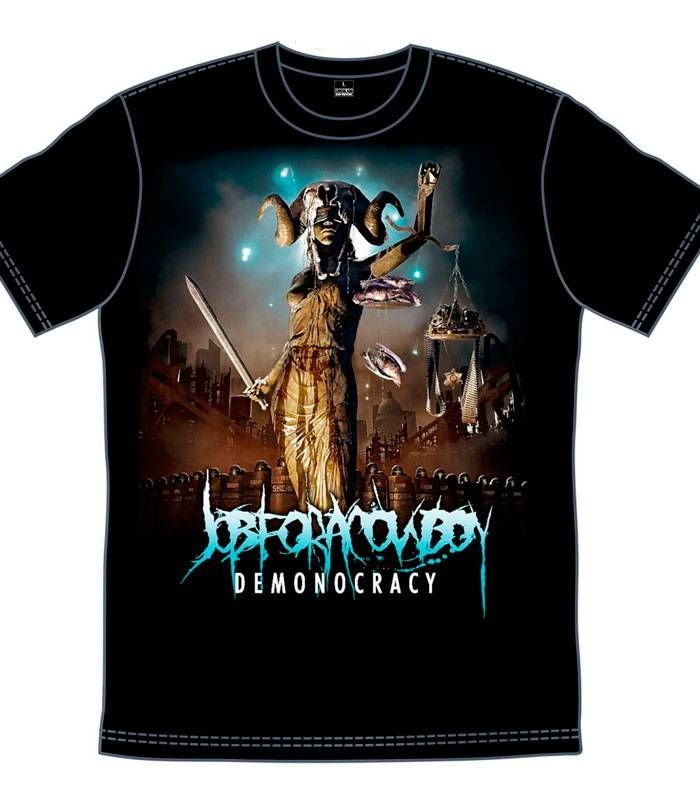 Camiseta - Job For A Cowboy - Demonocracy
