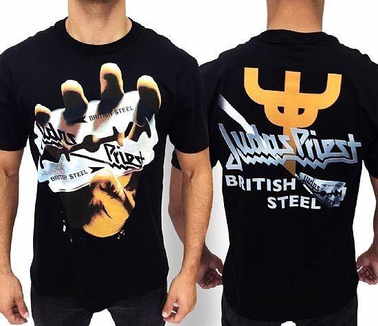 Camiseta - Judas Priest - British Steel