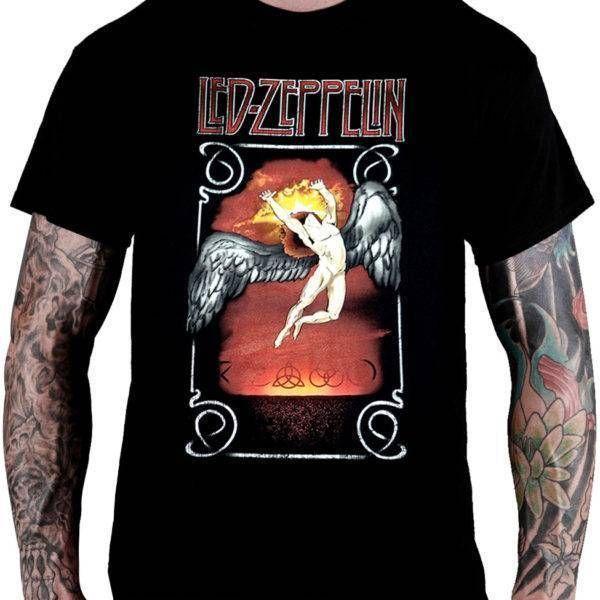 CamisetaLed Zeppelin –Icarus