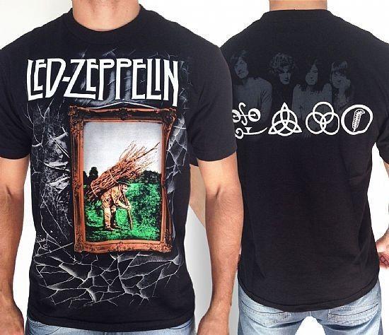 Camiseta - Led Zeppelin - IV