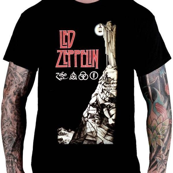 Camiseta Led Zeppelin – IV (Mago)