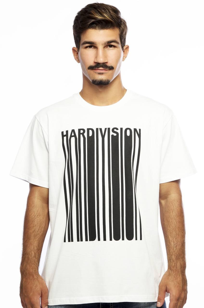Camiseta MasculinaEstampada New Order Branco Hardivision