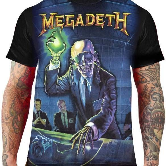 Camiseta Megadeth – Rust in Peace