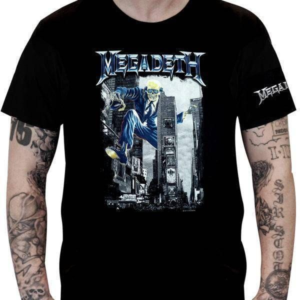 CamisetaMegadeth – Vic Rattlehead