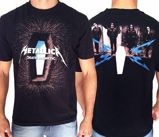 Camiseta - Metallica - Death Magnetic