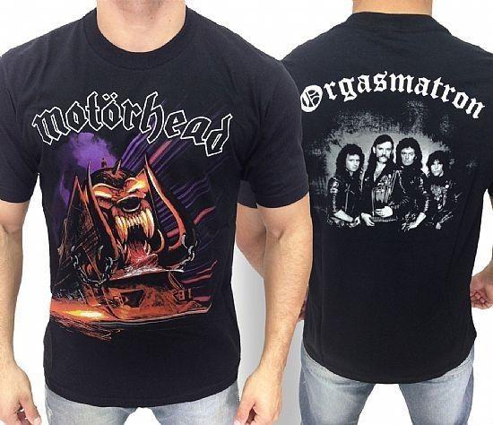 Camiseta - Motorhead - Orgasmatron
