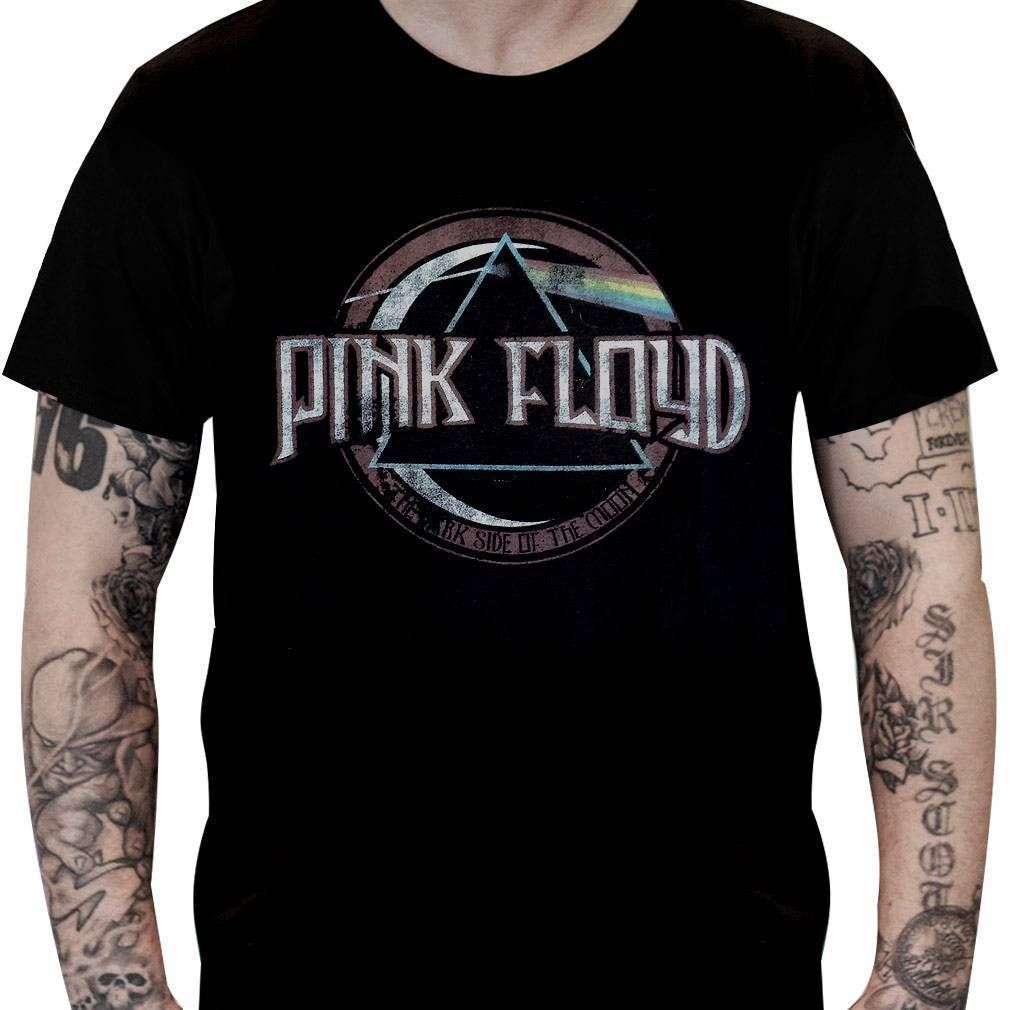 Camiseta Pink Floyd – Dark Side Vintage