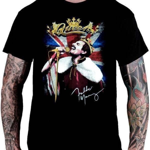 Camiseta Queen – Freddie Mercury