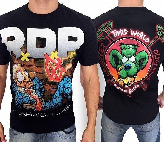 Camiseta - Ratos de Porão - Anarkophobia