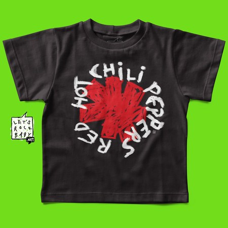 Camiseta Red Hot Chili Peppers Handmade