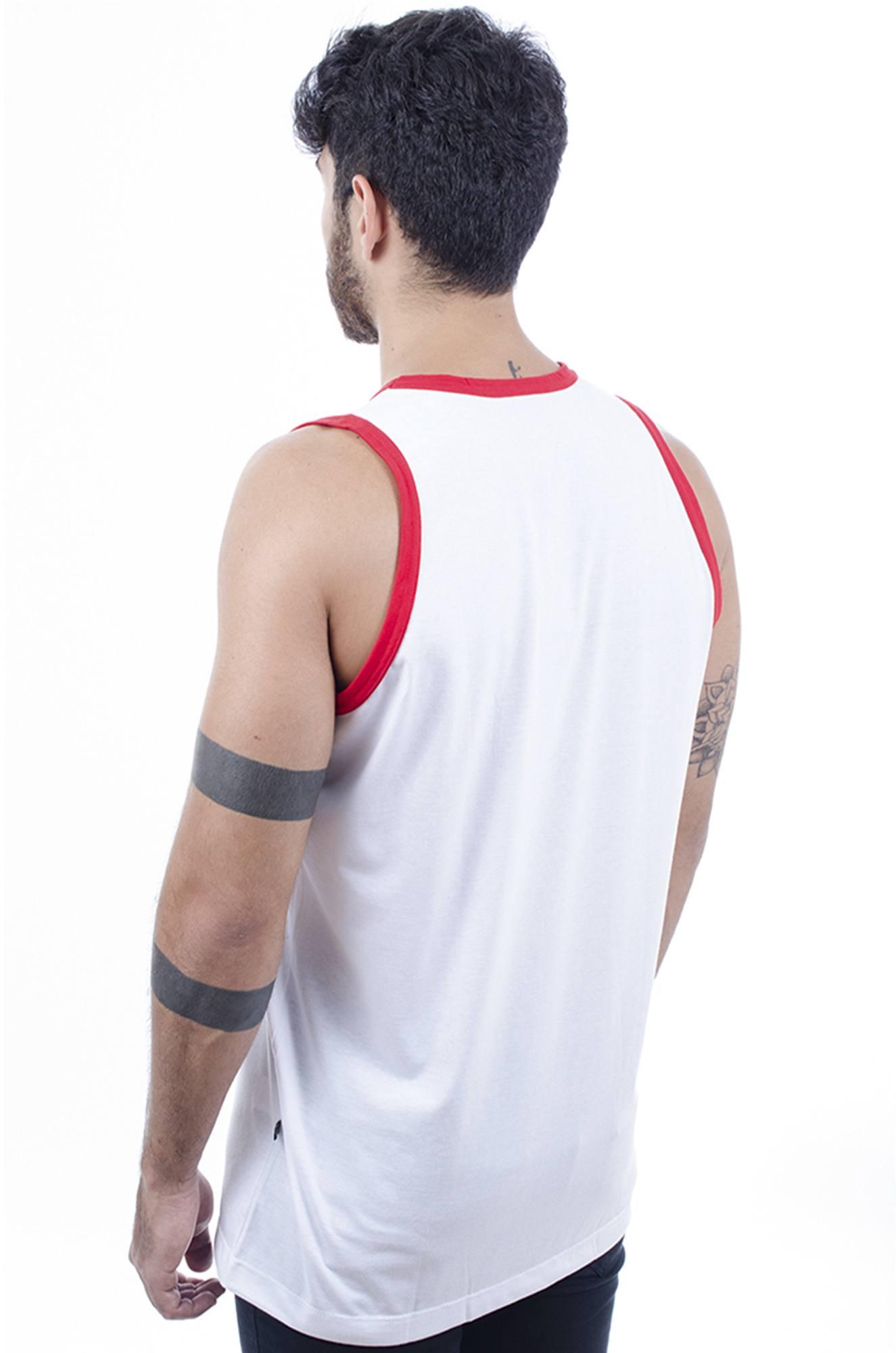 b6157a5f76 Camiseta Regata Masculina Hardivision Vegas Branco