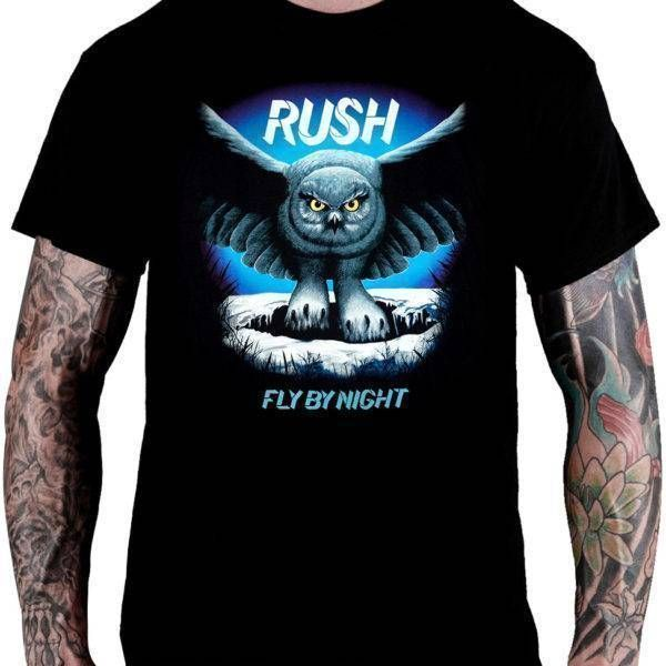 Camiseta Rush – Fly By Night