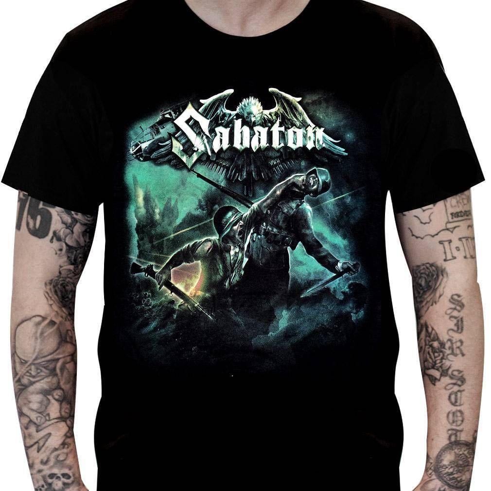 CamisetaSabaton – Heroes