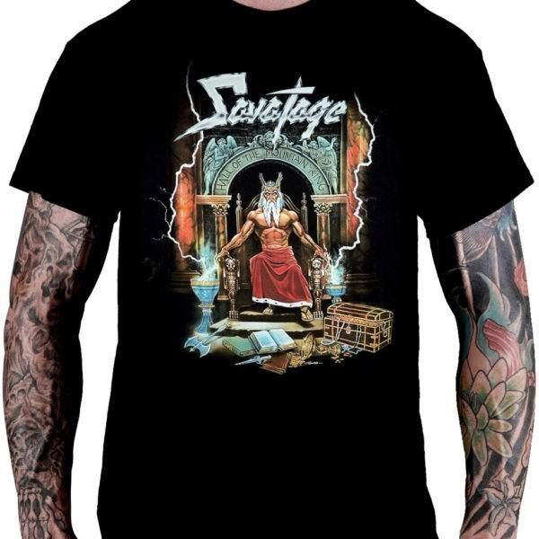 Camiseta Savatage – Hall of the Mountain King