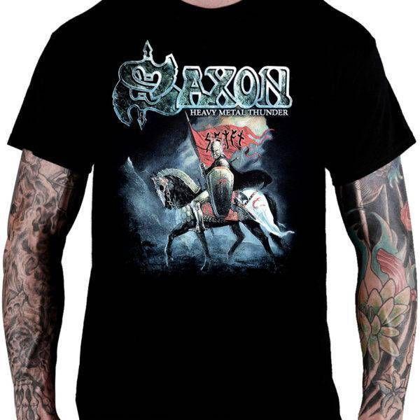 Camiseta Saxon – Heavy Metal Thunder