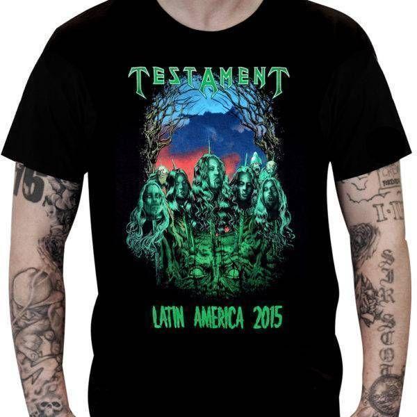 CamisetaTestament – Latin America2015