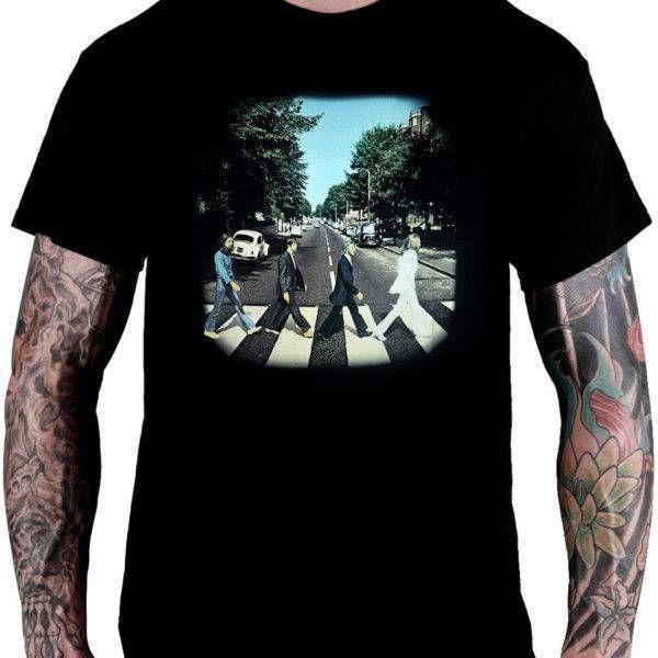 CamisetaThe Beatles – Abbey Road
