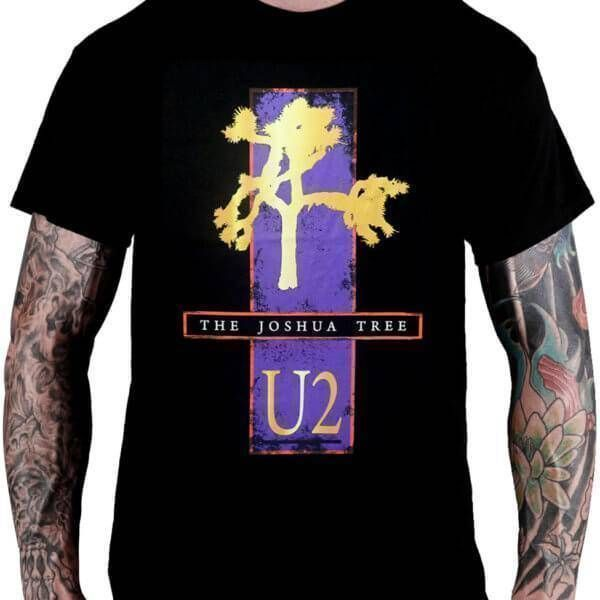 Camiseta U2 – The Joshua Tree