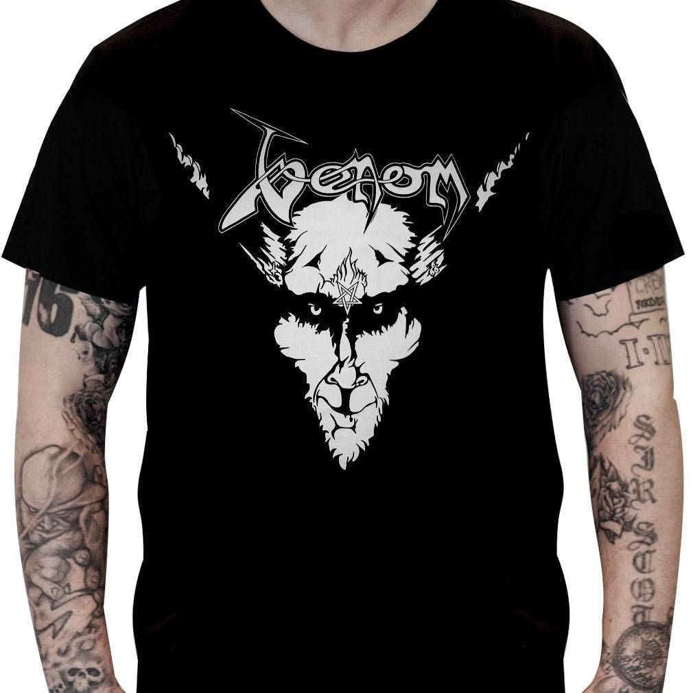 Camiseta Venom – Black Metal