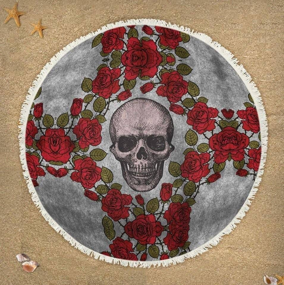 Canga Skull Roses – Rvalentim