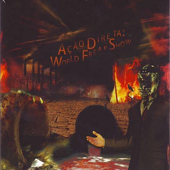 CD - Ação Direta - World Freak Show