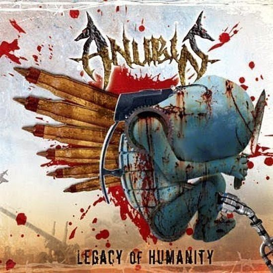 CD - Anubis - Legacy Of Humanity