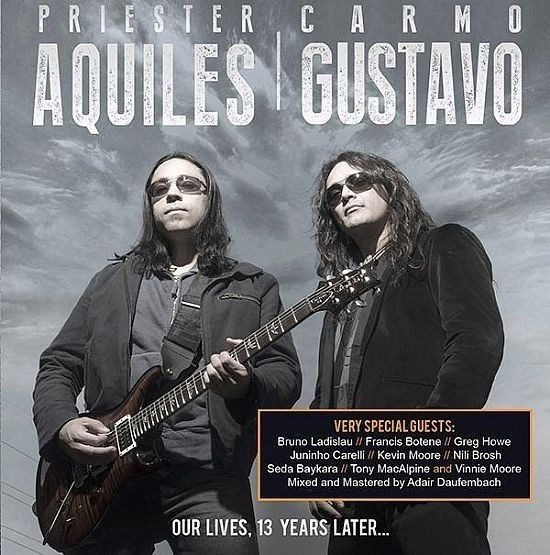 CD - Aquiles Priester | Gustavo Carmo - Our Lives, 13 Years Later