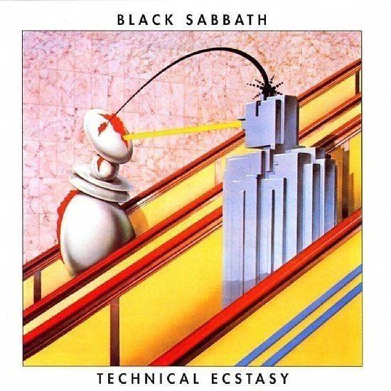 CD - Black Sabbath - Technical Ecstasy