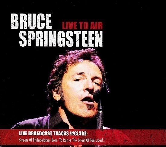 CD DUPLO  - Bruce Springsteen - Live To Air