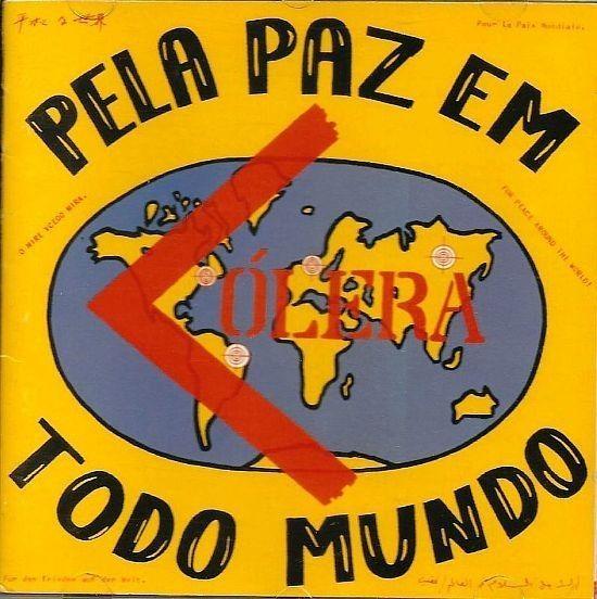 CD - Cólera - Pela Paz Em Todo Mundo