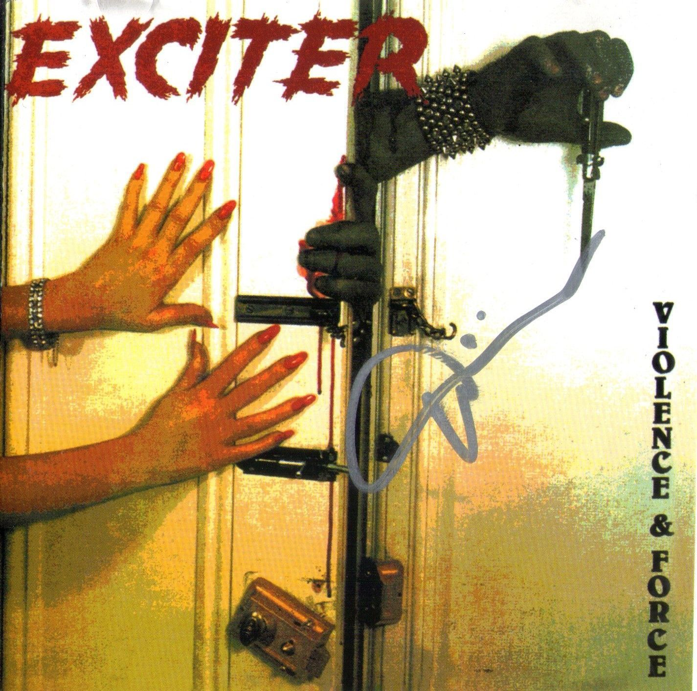 CD Exciter Importado – Violence & Force - Autografado