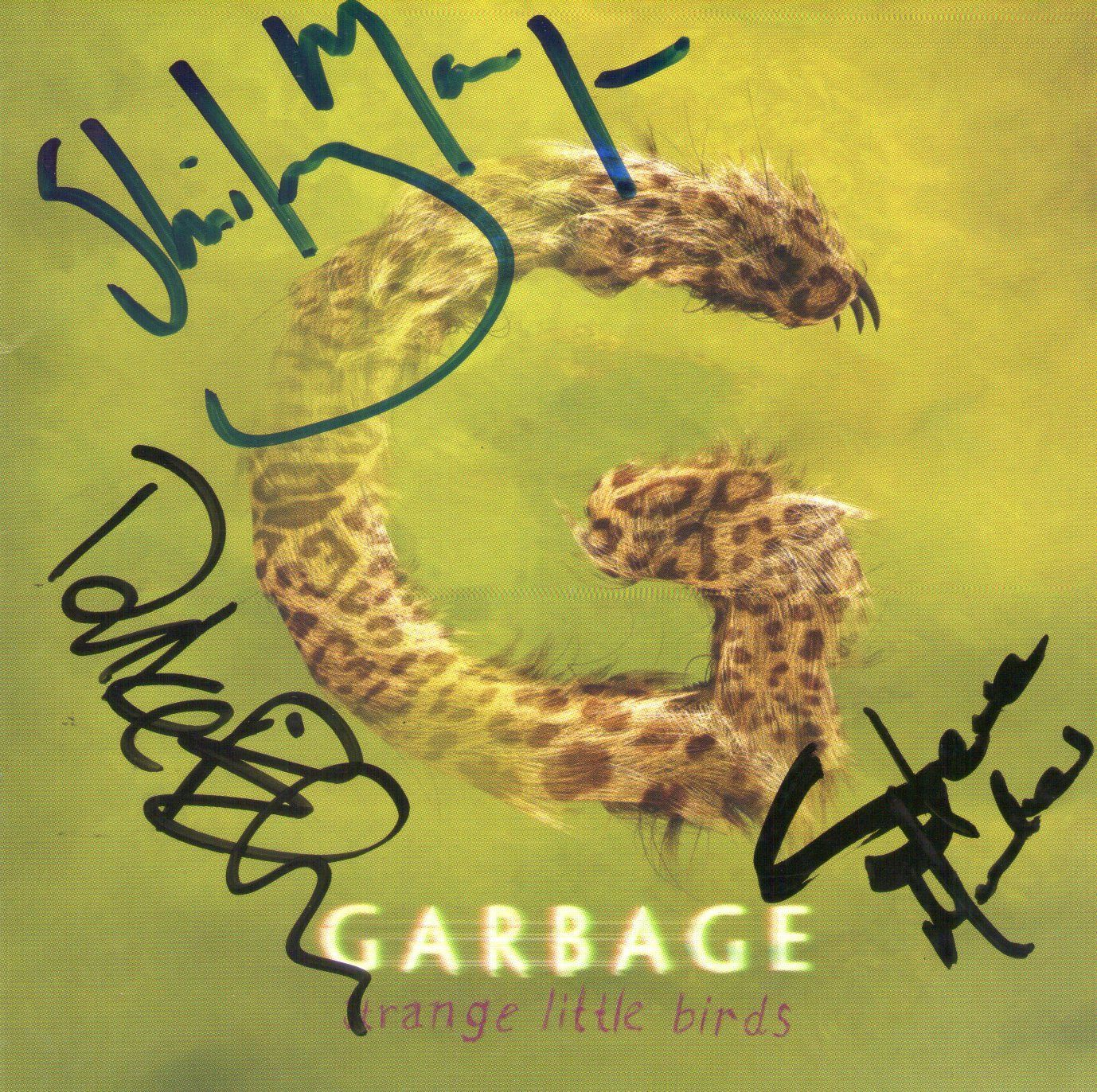 CD – Garbage – Strange Little Birds – Autografado