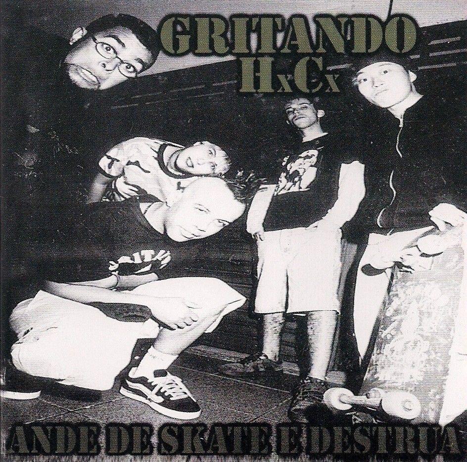 CD - Gritando HC - Ande de Skate e Destrua