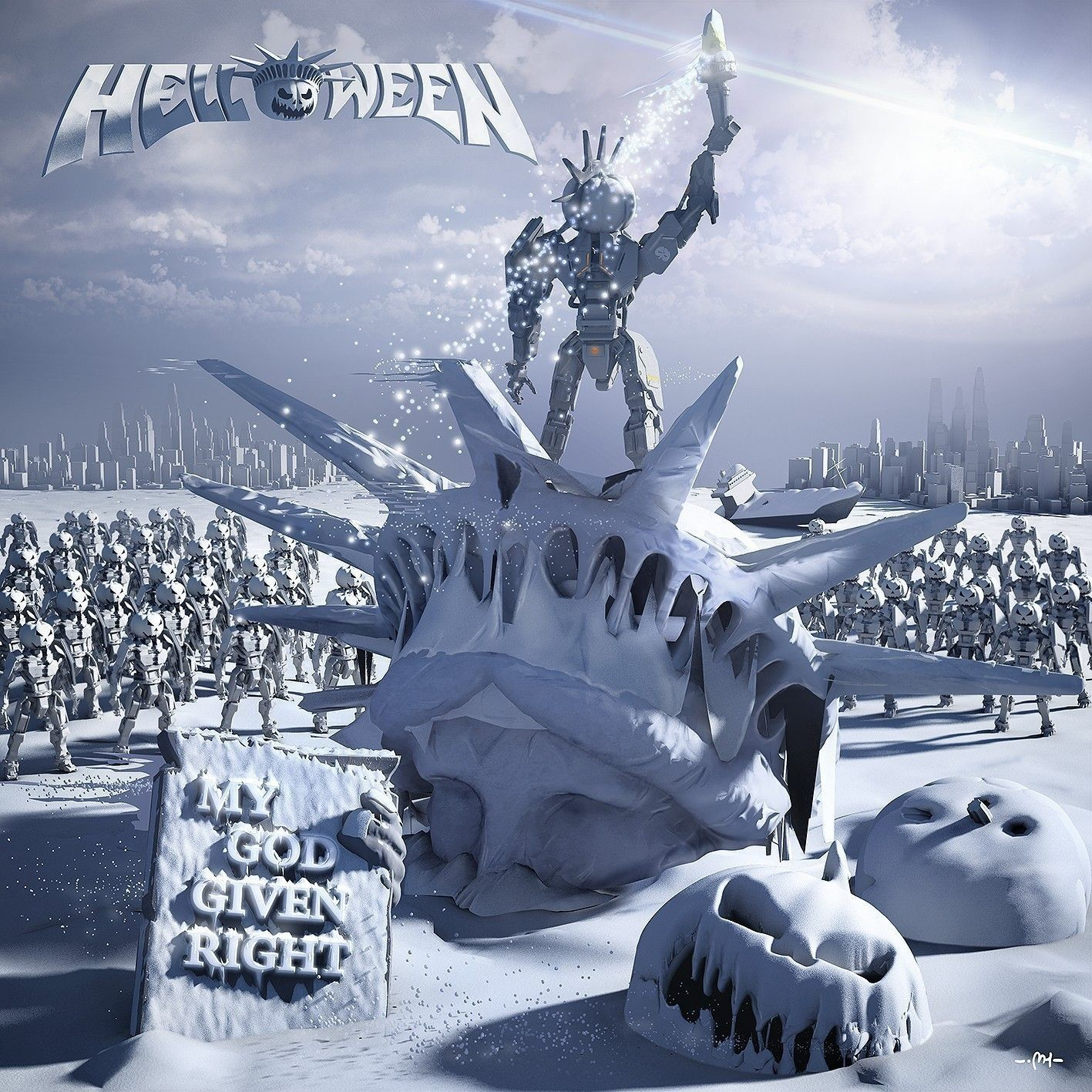 CD - Helloween - My God Given Right