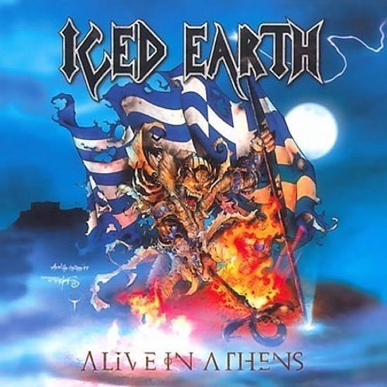 CD - Iced Earth - Alive In Anthens ( Triplo Papersleeve )