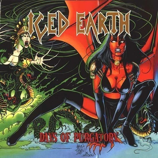 CD - Iced Earth - Days Of Purgatory ( Duplo Papersleeve )