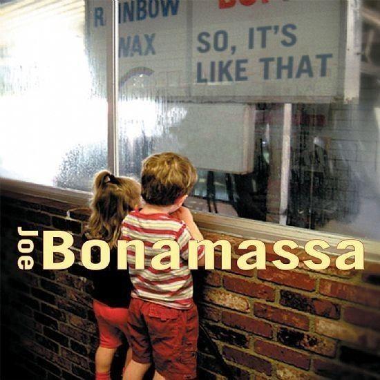 CD - Joe Bonamassa - So, It's Like That