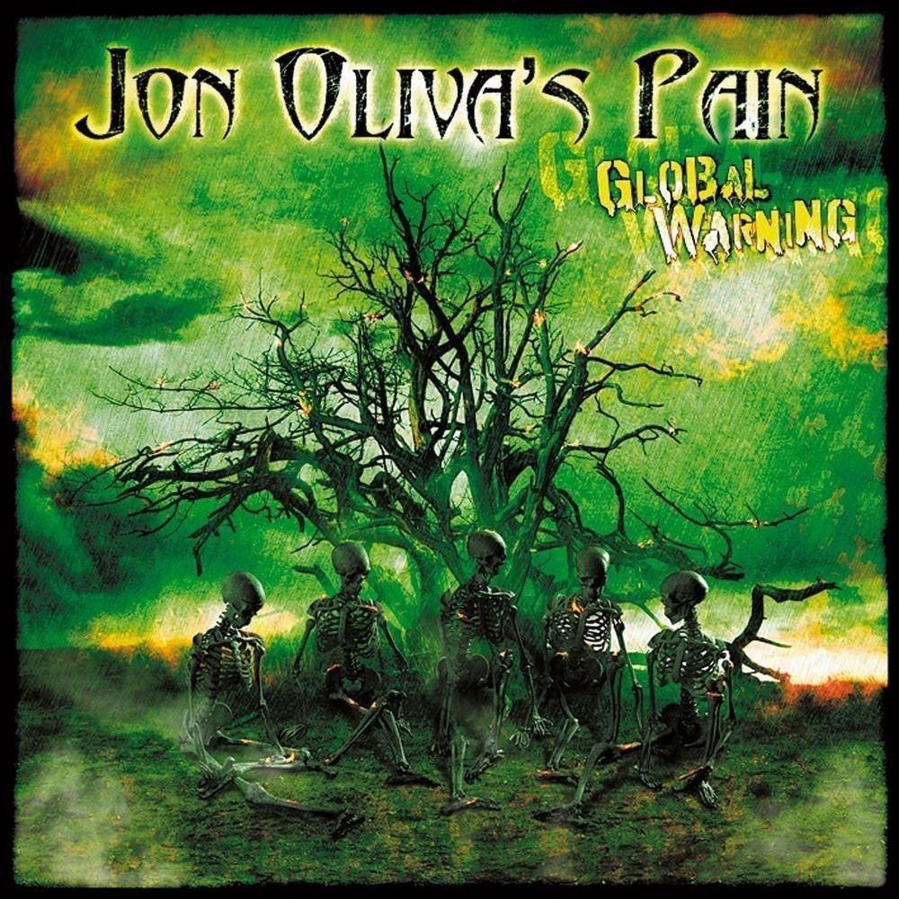 CD - Jon Olivas's Pain - Global Warning