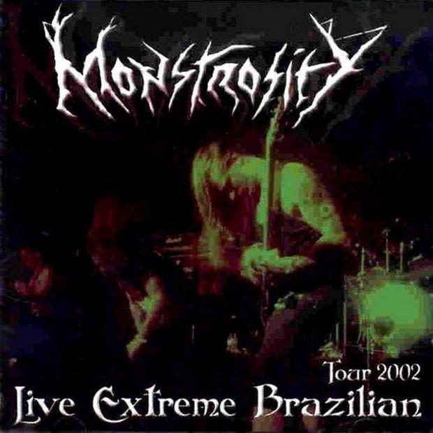 CD - Monstrosity - Live Extreme Brazilian Tour 2002