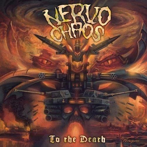 CD - NervoChaos To The Death - Autografado
