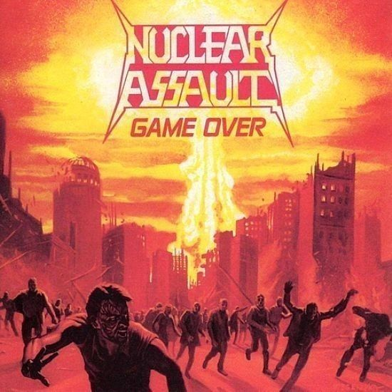 CD - Nuclear Assault - Game Over / The Plague