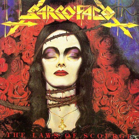 CD - Sarcófago - The Laws of Scourge