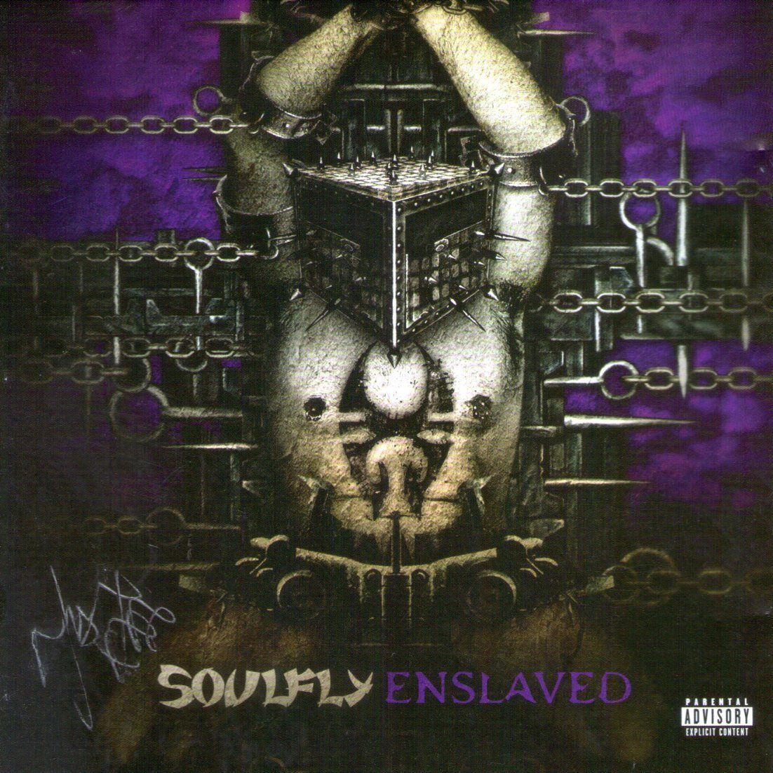CD – Soulfly – Enslaved – Autografado