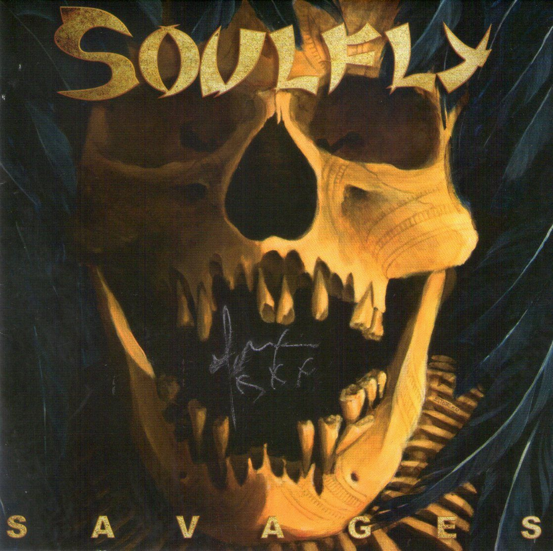 CD – Soulfly – Savages – Autografado